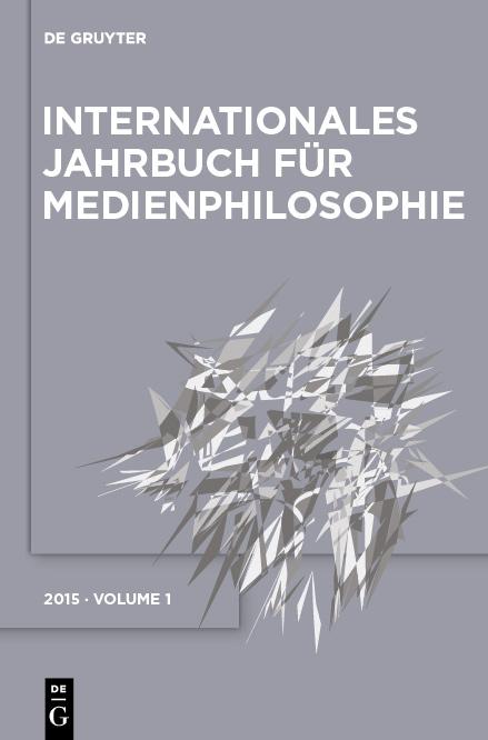 AG Medienphilosophie - Jahrbuch Band 1