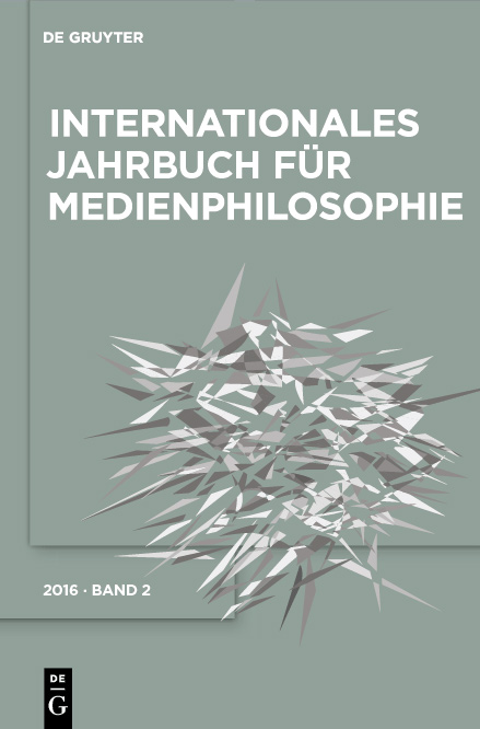 AG Medienphilosophie - Jahrbuch Band 2