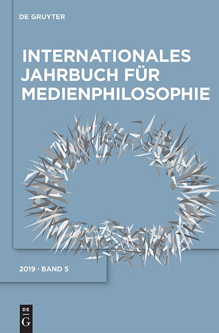 AG Medienphilosophie - Jahrbuch Band 5