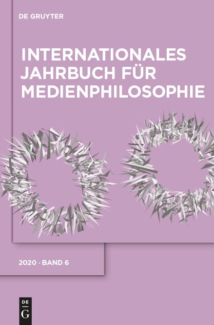 AG Medienphilosophie - Jahrbuch Band 6